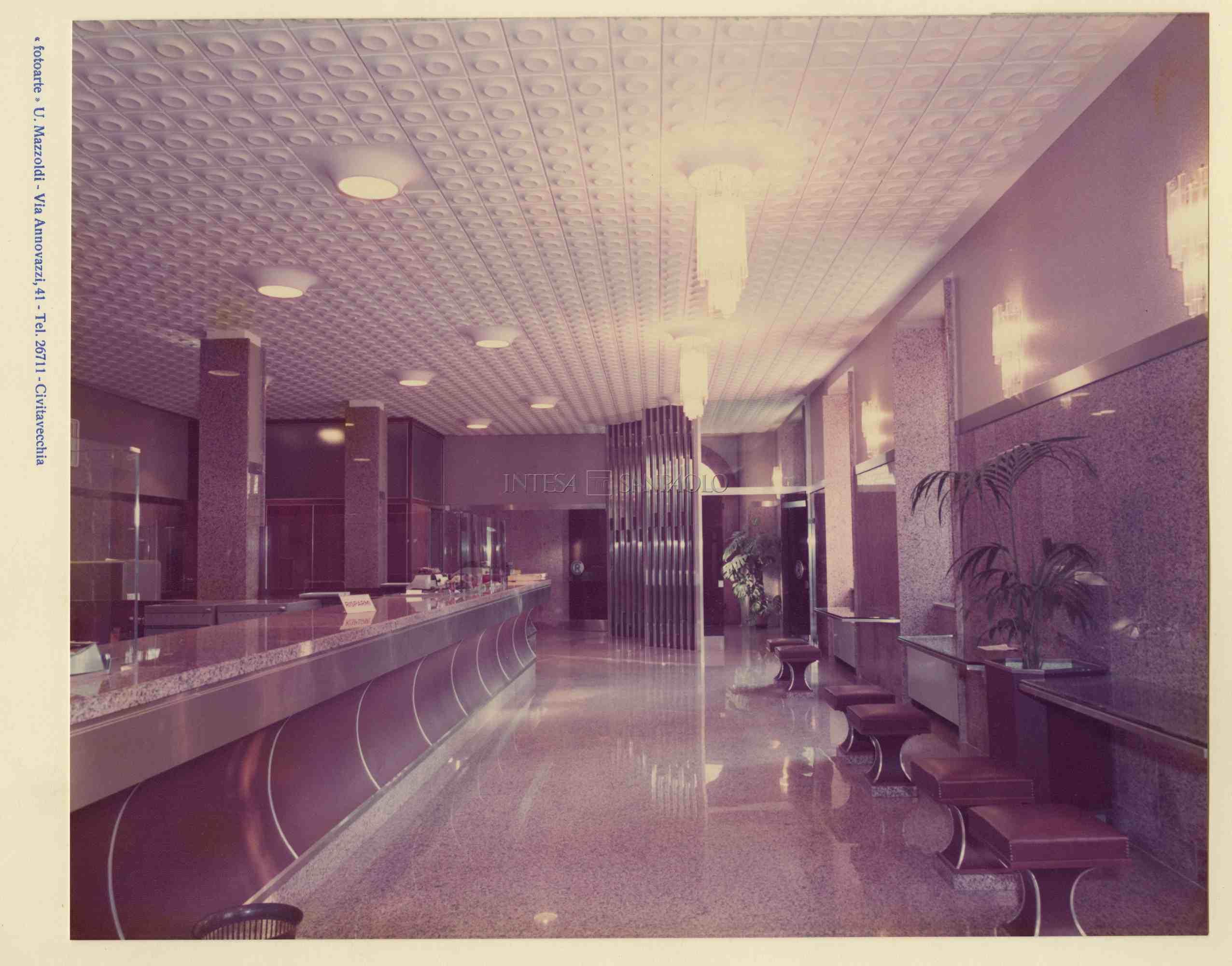 Civitavecchia interno della sede centrale post 1976 foto di Umberto Mazzoldi
